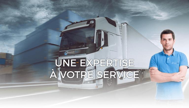 Personal Job, l'intérim des métiers du transport